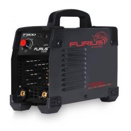SOLDADORA INVERTER FURIUS 200 AMP