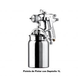 PISTOLA DE PINTAR MICHELIN CON AJUSTE DE PASO 1LTS