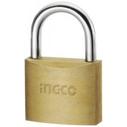 CANDADO BRONCE 50MM INGCO 3 LLAVES DBPL0502