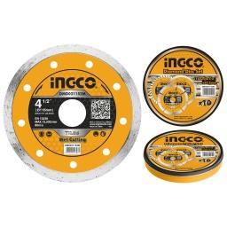 DISCO CONTINUO LATA X 10 PCS 4 1/2 X 22.2MM INGCO DMD021152M