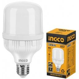 LAMPARA LED AHORRO ENERGIA T 20W E27 LUZ FRIA INGCO HLBACD3201T
