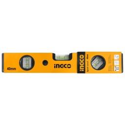 NIVEL ALUMINIO (40CM) INGCO HSL01040 AMARRILO