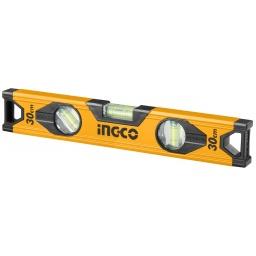 NIVEL ALUMINIO (30CM) INGCO HSL18030 AMARRILO