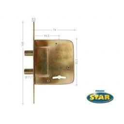 CERROJO STAR JUNIOR 500-S Cerradura puerta reja poton