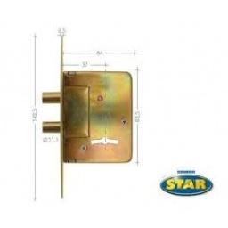 CERROJO STAR JUNIOR 200-S puerta reja porton