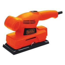 LIJADORA ORBITAL 138W 1/3 HOJA BLACK + DECKER CD455