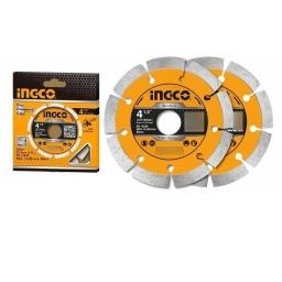 SET DISCOS SEGMENTADOS X2 4 1/2 INGCO DMD0111523