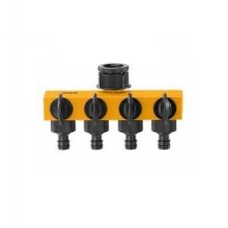 CONECTORES RIEGO 4 SALIDAS 1- 34 HHC1402 INGCO