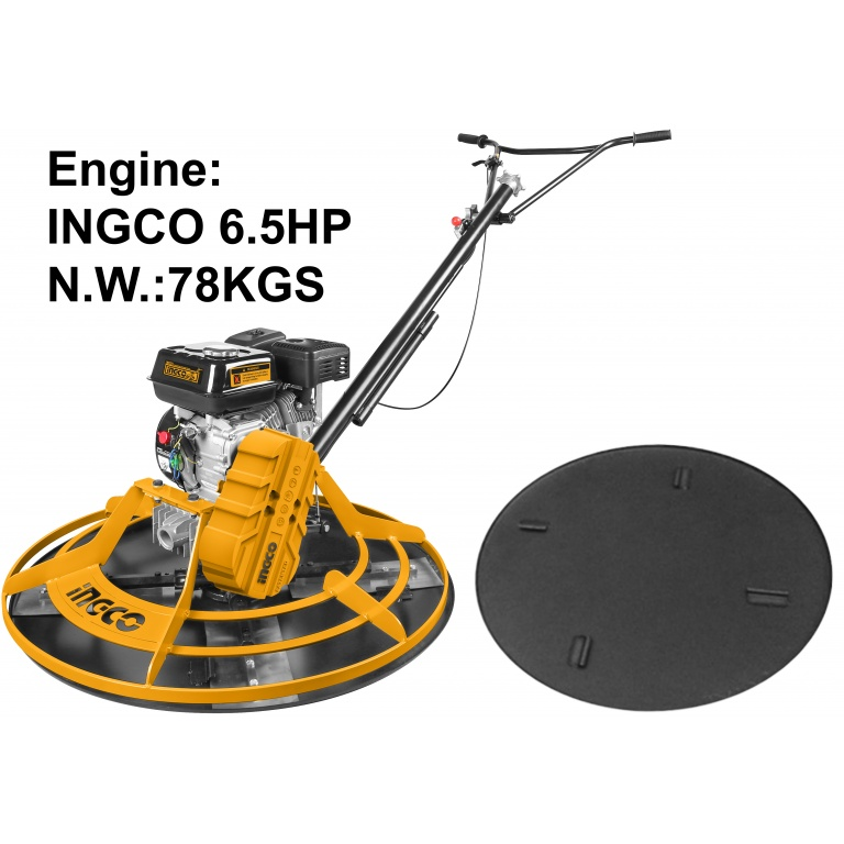 HELICOPTERO 6.5HP 78KG ALISADOR INGCO GPT361-2