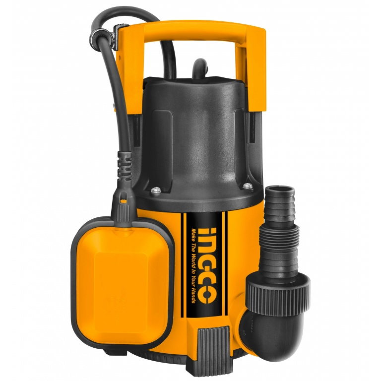 BOMBA SUMERGIBLE PLASTICO 400W AGUA LIMPIA  INGCO SPC4001